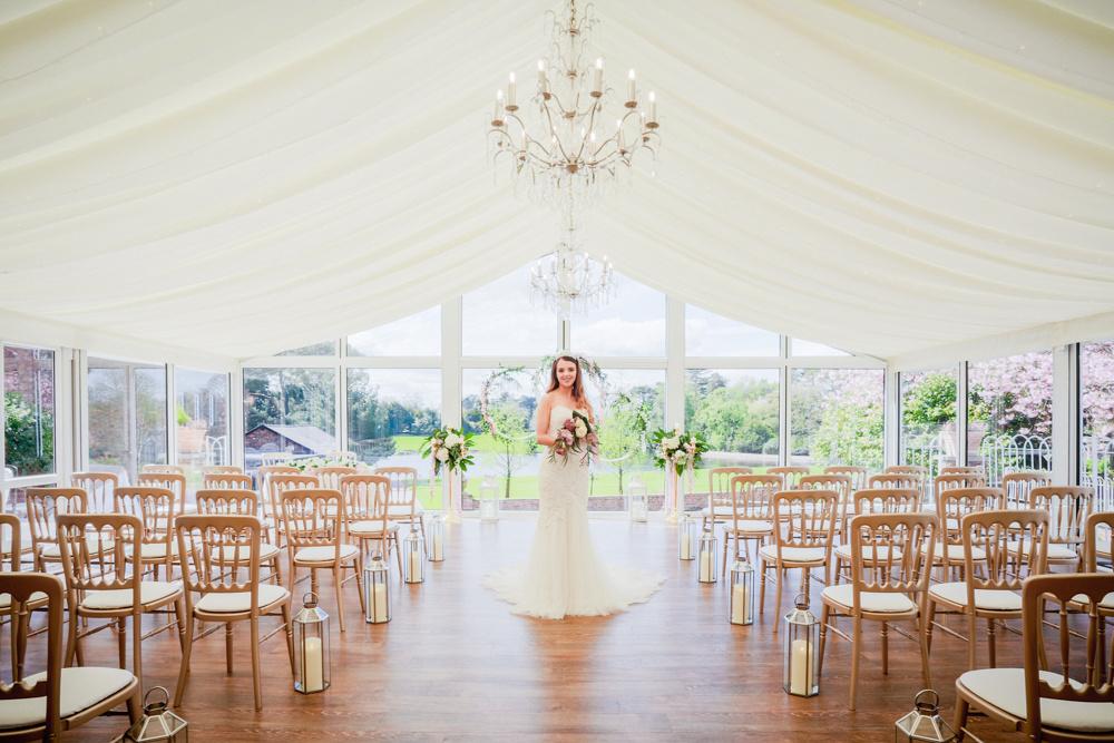 Capesthorne Hall Cheshire Lakeside Wedding