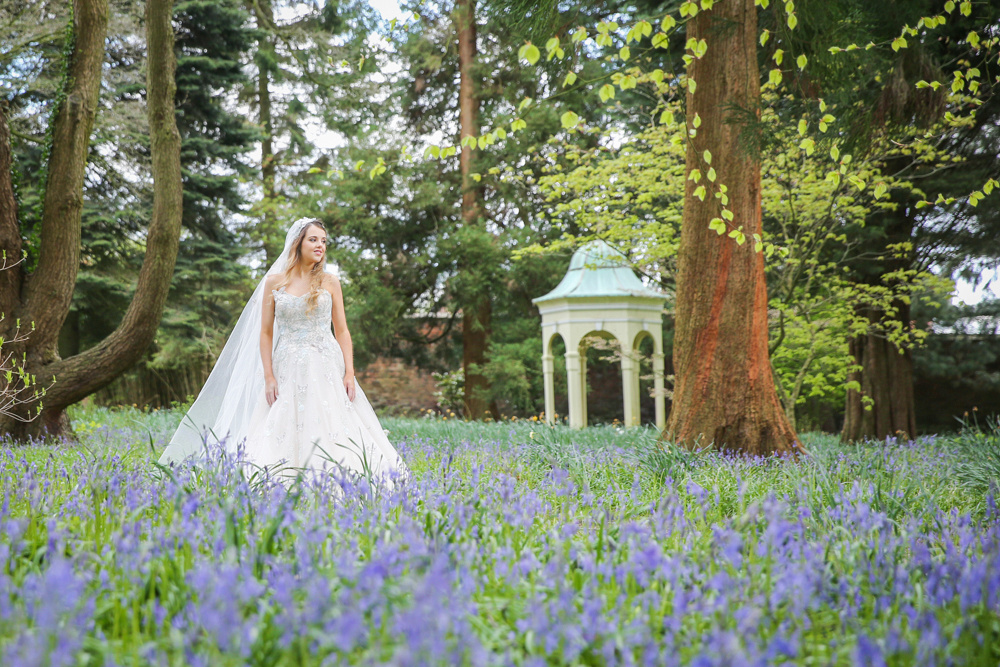 Cheshire woodland wedding