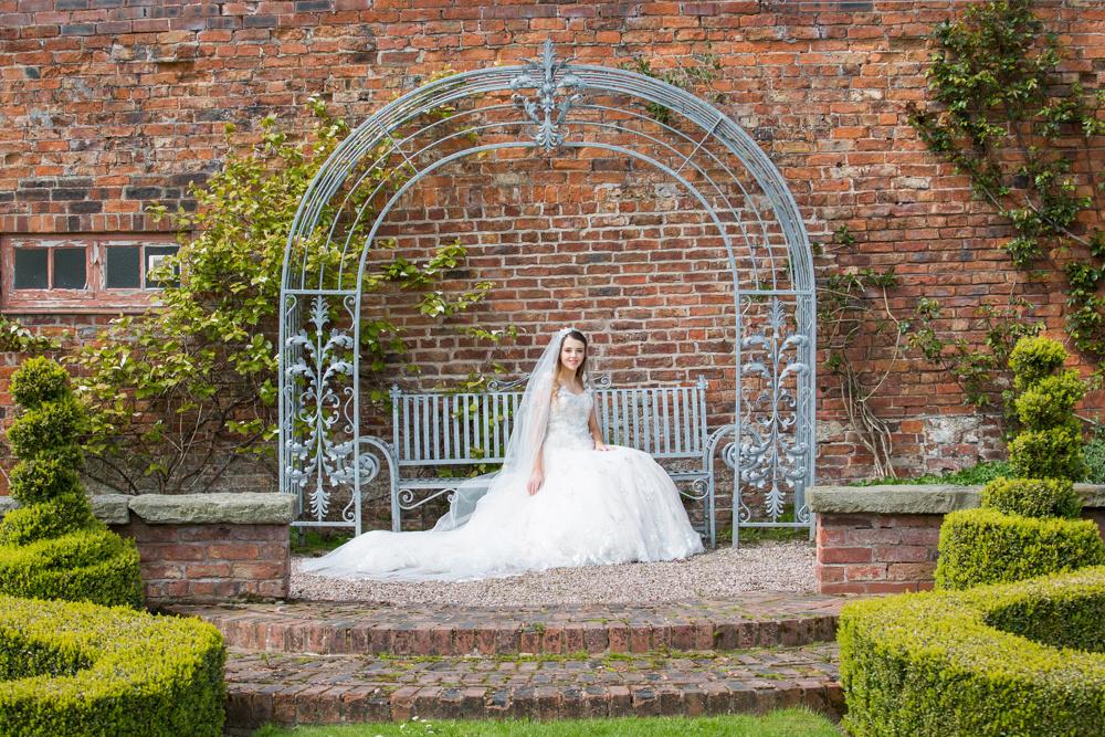 Capesthorne Hall Wedding Photo