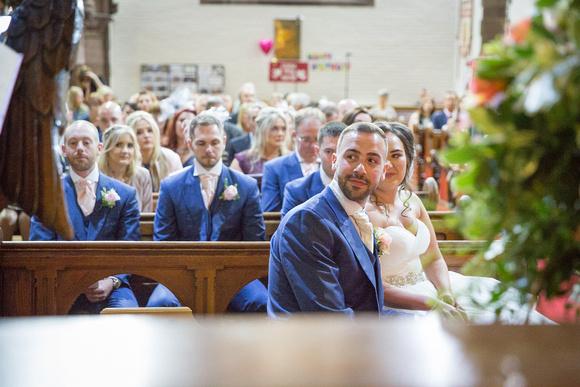 Cheshire wedding Ceremony Photo