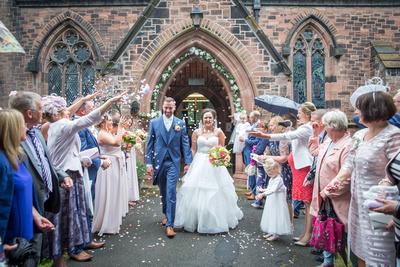 Cheshire Wedding Confetti