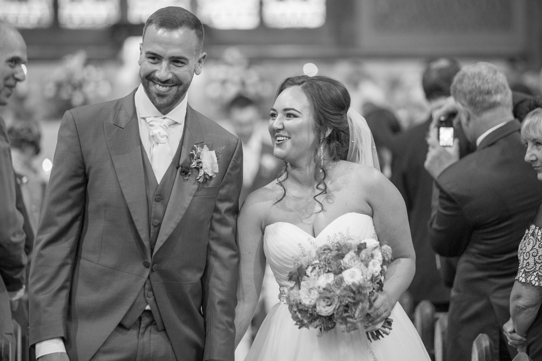 Mr and Mrs Wedding Photo