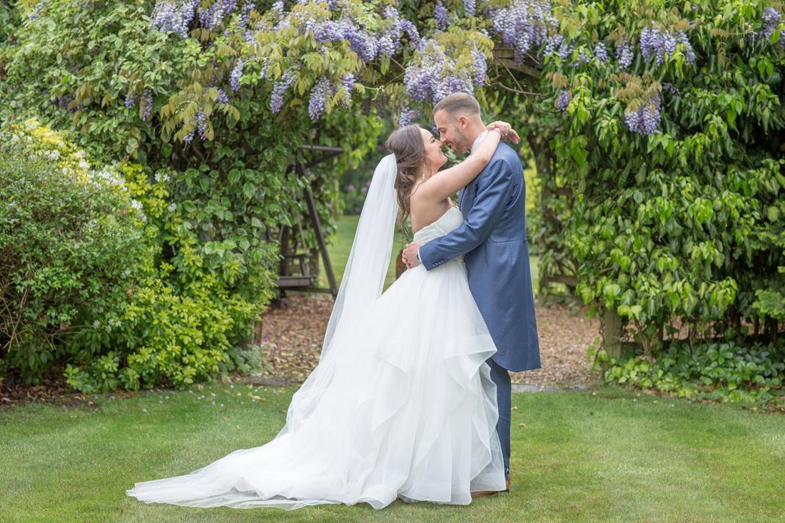 Wisteria Wedding Photo