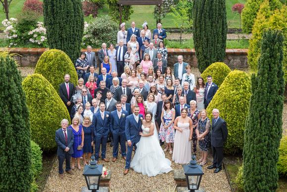 Nunsmere Group Wedding Photo