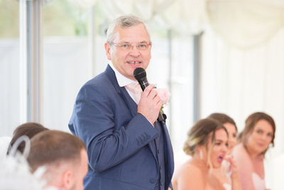 Cheshire Father of The Bride Speech