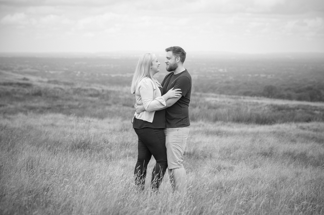 Lyme Park Engagement Photos