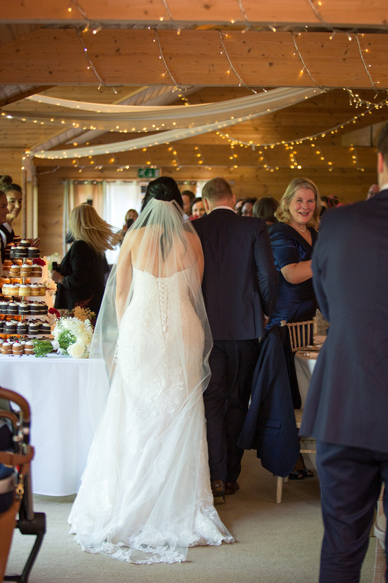 going into your wedding breakfast at Styal lodge