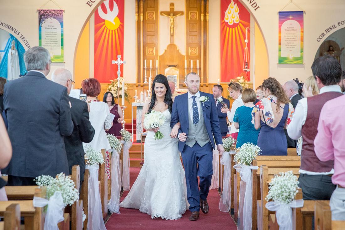 st winifreds church mauldeth road wedding photo