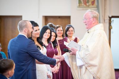manchester wedding ceremony photo