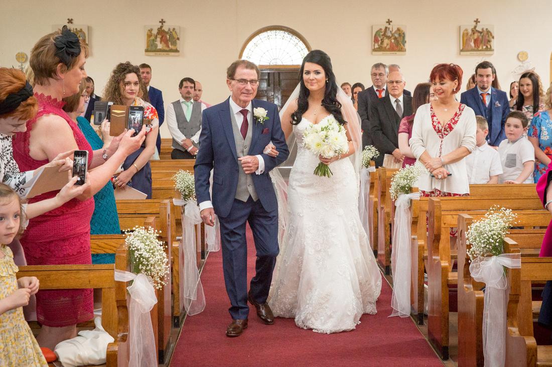 cheshire church wedding photo