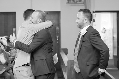 whitfield and ward wedding photo