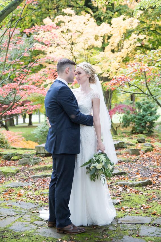 Cheshire Autumn Wedding Venue