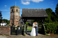 St. Oswald's Church, Lower Peover Wedding