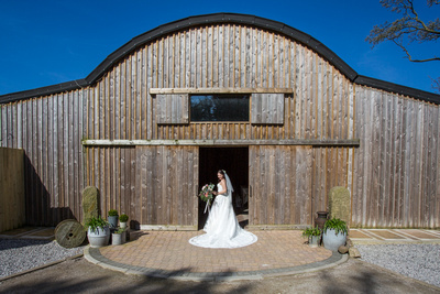 Rustic Cheshire Wedding barn