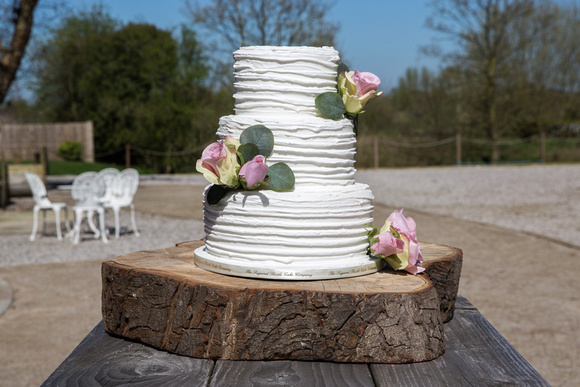 Wedding Cake Outdoors