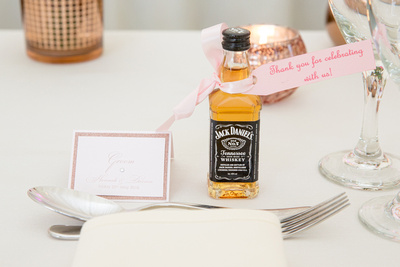 Jack Daniels and name place card