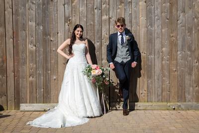 Wedding at Alcumlow Hall Wedding Barn