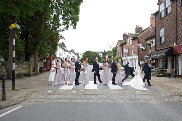 iconic Beatles photo on your wedding day