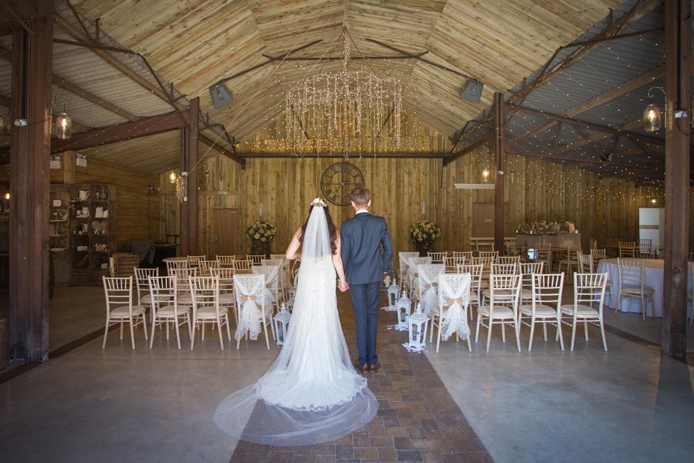 Rustic Wedding Barn in Cheshire