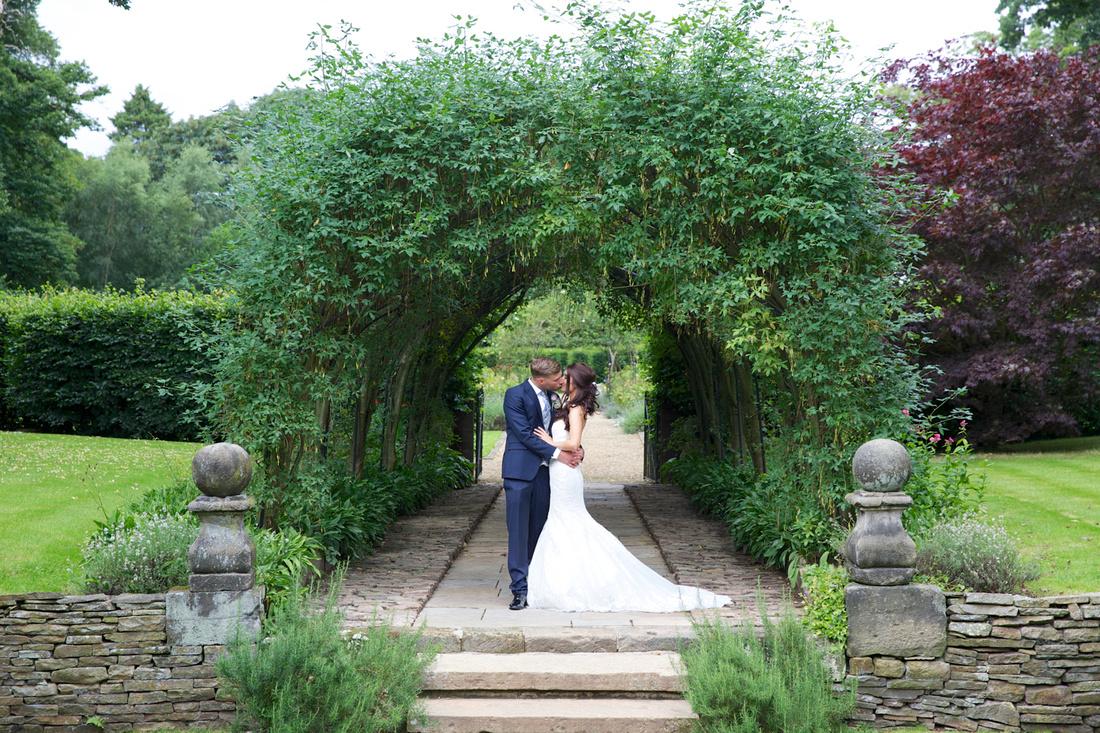 Adlington Hall and gardens wedding photographer