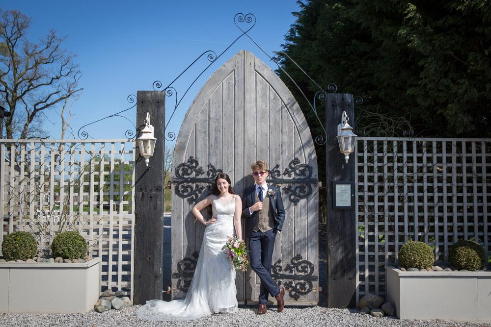 Cheshire summer wedding photo