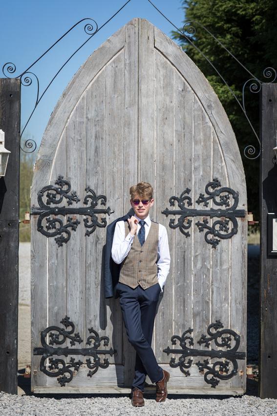 tweed wedding waistcoat