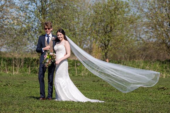 Cheshire wedding dress